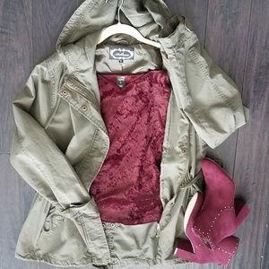 🆕NWOT ️Hooded Utility Jacket